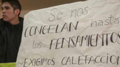 El mapa del frío: Escuelas de la provincia de Buenos Aires reclaman calefacción para poder dar clases
