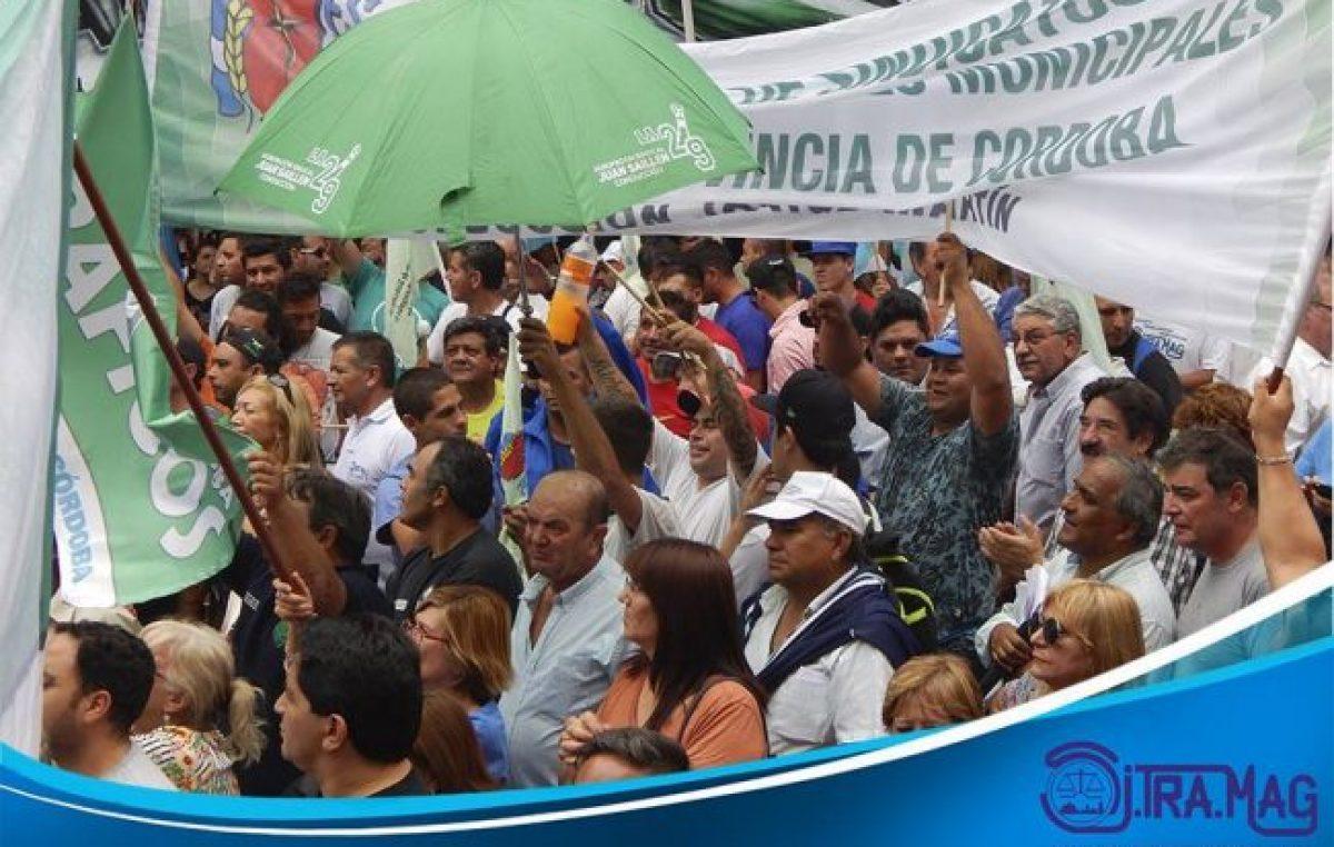 Paro nacional: los empleados municipales de Alta Gracia se unen a la medida de fuerza