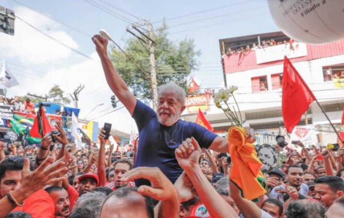 Lula lidera cómodo la intención de voto según una encuesta nueva