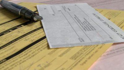 Cheques rechazados y señal de alerta