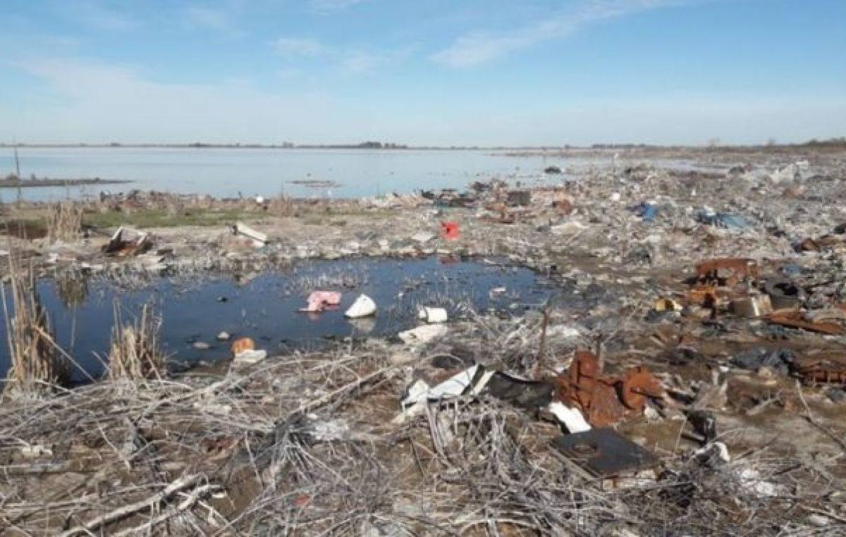 Para sanear el basural a cielo abierto en Huinca se necesitarán $ 10 millones
