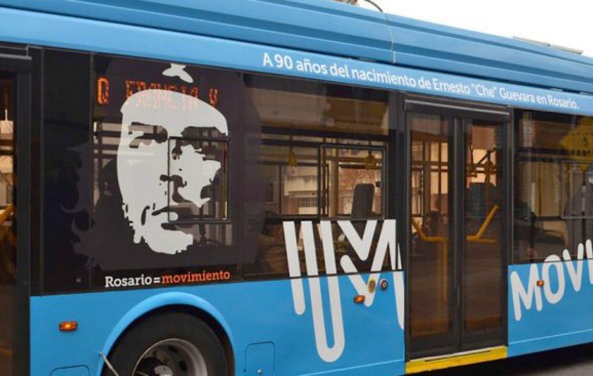"""Rosario: Fein calificó de """"insignificante"""" la polémica por la imagen del Che en el transporte público"""