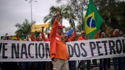 Multas en Brasil para cercenar el derecho al paro