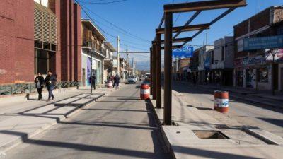 Avanzan en Guaymallén las obras del Metrobús