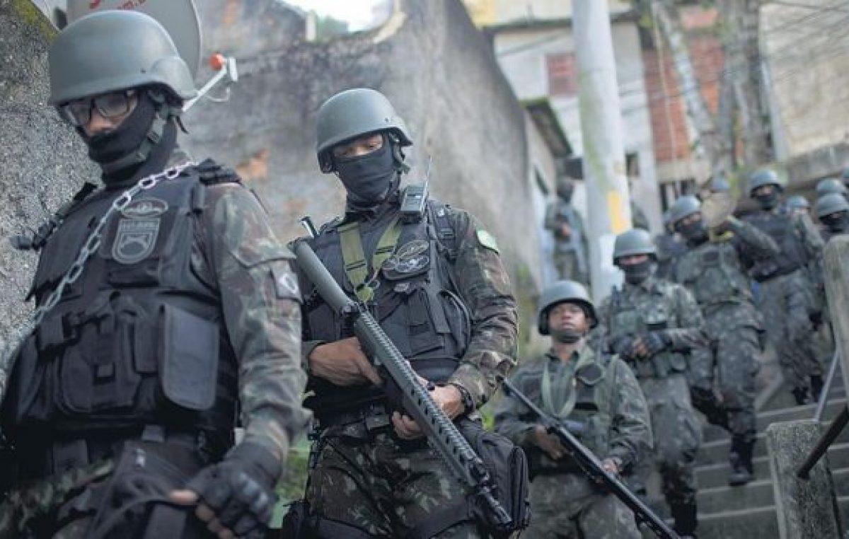 Invasión militar en Río