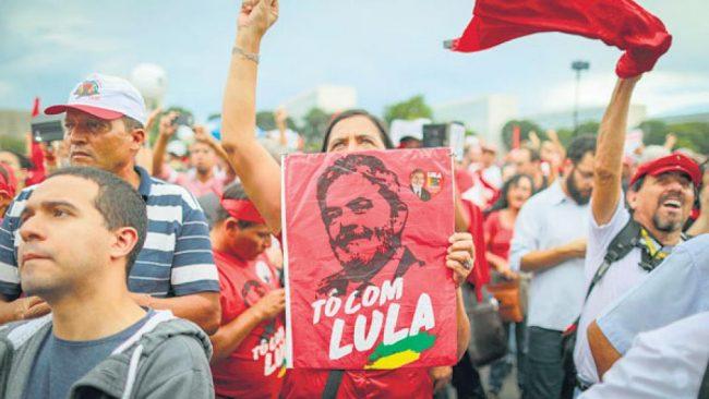 Respaldo a Lula
