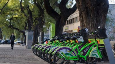 Mendoza: En la Bici sumó su estación número 13