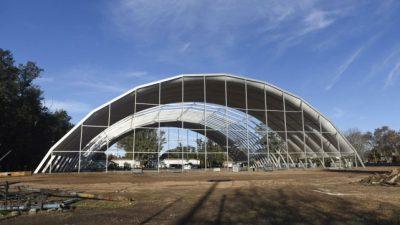 Rosario proyecta un amplio espacio para shows artísticos en el parque Independencia