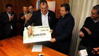 Bariloche recibió casi 65 millones de pesos del Plan Castello