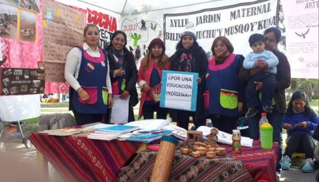 Jujuy: Una muestra en defensa de la educación indígena
