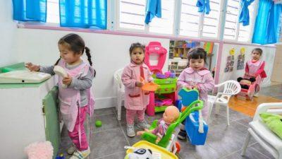 Se brindan por mes 8.000 desayunos y refuerzos alimentarios en jardines maternales de Trelew