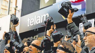 """La """"masacre laboral"""" en Télam"""