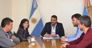 Por primera vez, se firmó un convenio de madrinazgo de un espacio verde de Ushuaia