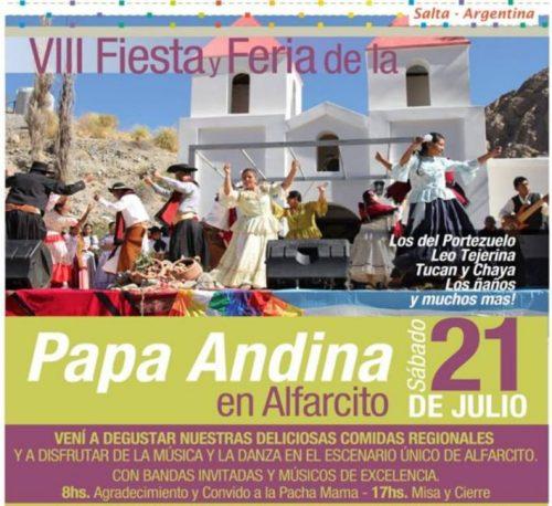 Pachamama, misa y Fiesta de la Papa Andina