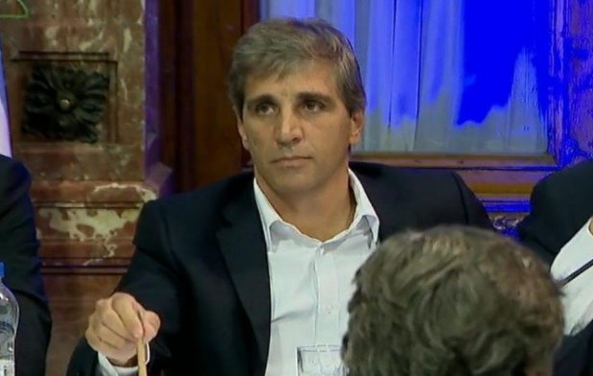 Otra denuncia contra Caputo, ahora por desmontes ilegales en Santiago del Estero