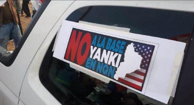 Neuquén: masiva caravana contra la instalación de la base norteamericana