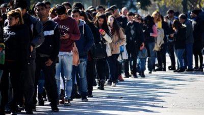 Preocupación por el avance del desempleo: prevén una tasa de dos dígitos en el corto plazo