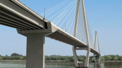 Paranaenses llevan a Buenos Aires los cuestionamientos a la traza del puente Paraná-Santa Fe