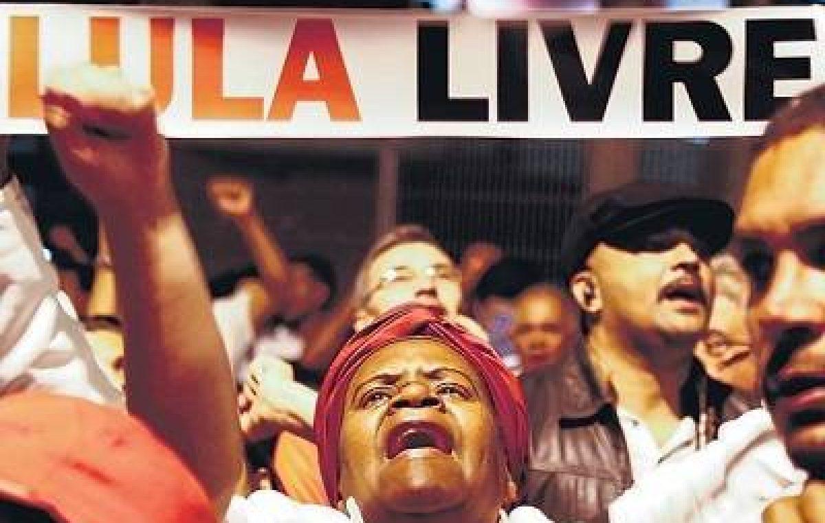 Lula libre, el grito del domingo en Brasil