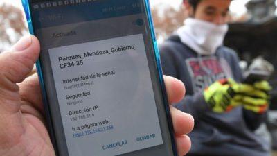 El Gran Mendoza tiene Wi Fi gratis en 48 áreas públicas