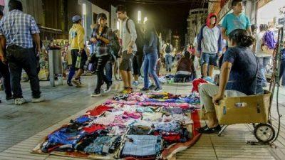 Comercio Ilegal en Salta: un promedio de 8 comerciantes ilegales por manzana del centro