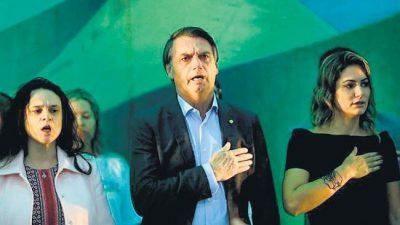 Brasil: Una cachetada propia de un Bolsonaro