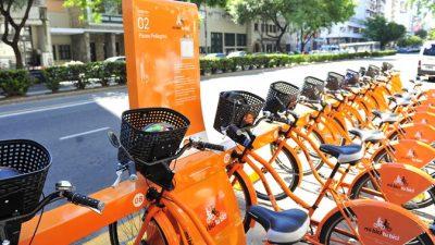 Buscan sponsors para abaratar los costos del sistema de bicicletas públicas rosarinas