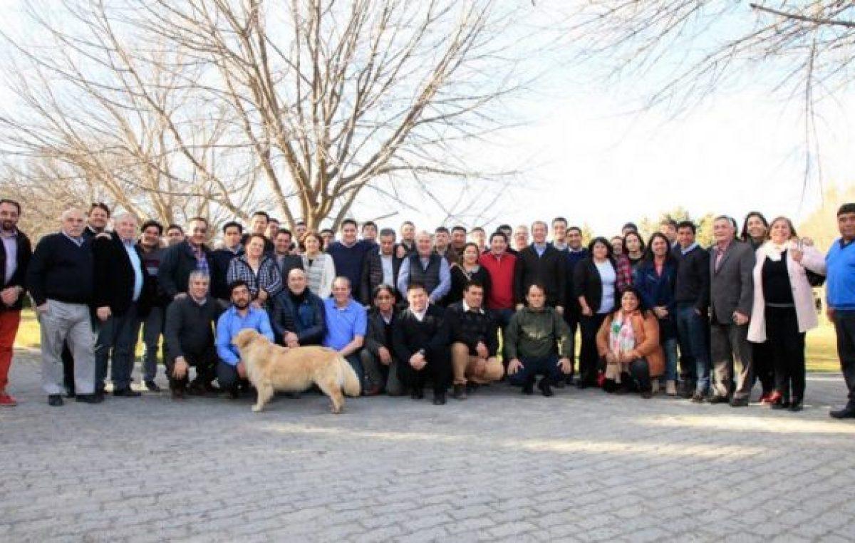 Los intendentes neuquinos sumaron su apoyo a Gutiérrez 2019