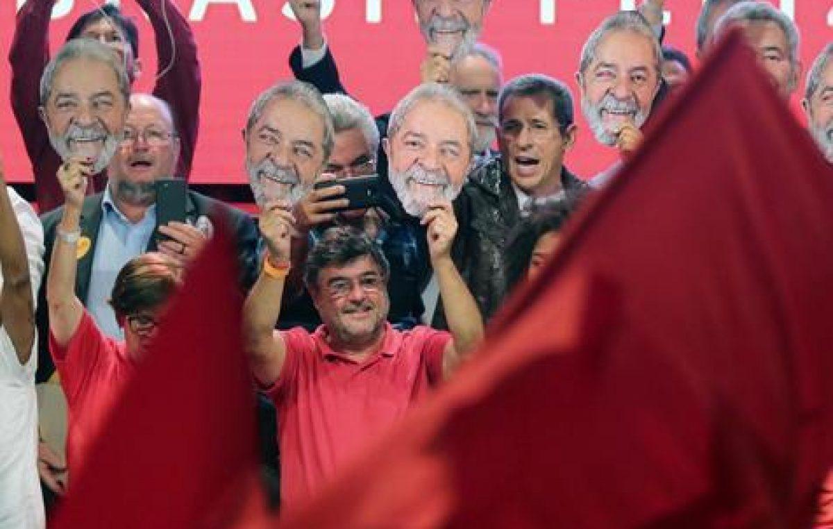 Lula lidera las preferencias en San Pablo