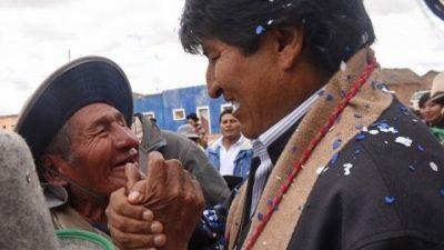 Evo Morales asegura que Bolivia consolidó un modelo de crecimiento