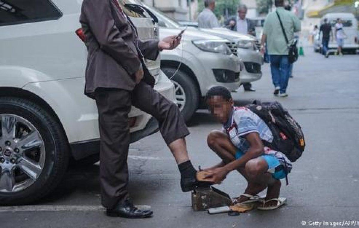 Brasil y la insoportable desigualdad social