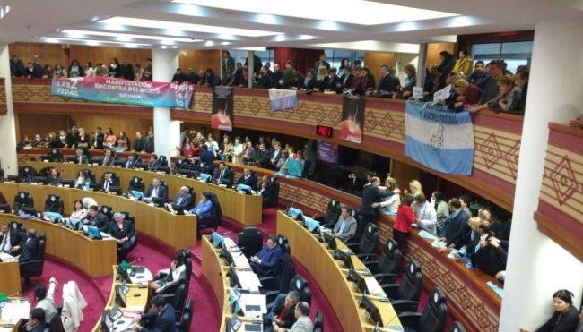 "Tucumán se declaró ""provincia provida"""