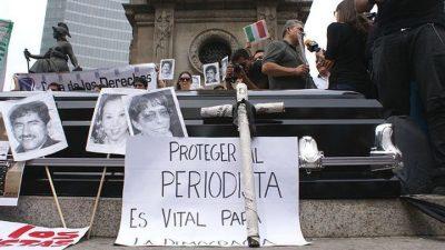 Está en riesgo el sistema que protege a periodistas mexicanos