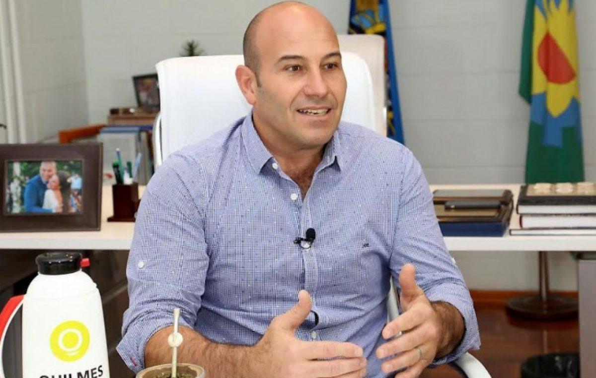 Quilmes: el intendente Molina destacó la ordenanza que da beneficios impositivos a pequeños comerciantes