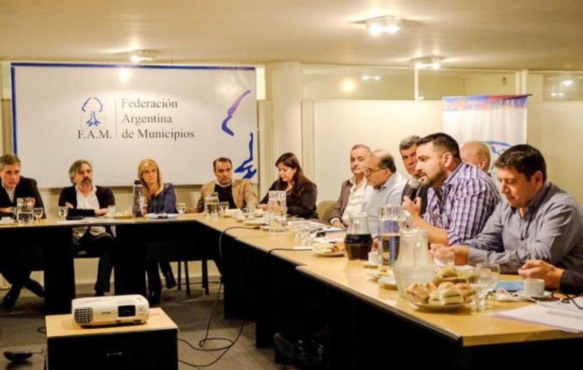 Respaldo al intendente de Ushuaia de la Federación Argentina de Municipios