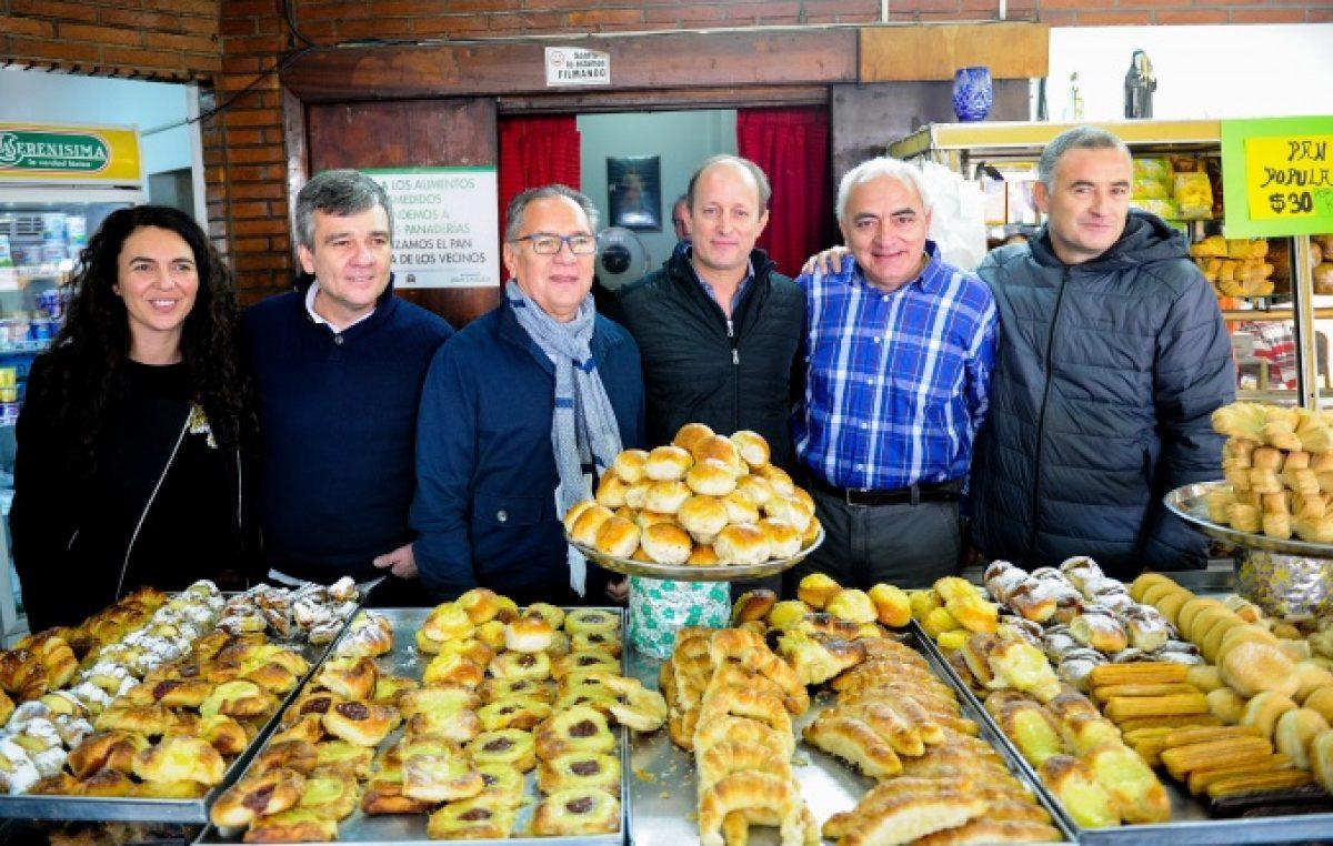 """El """"Pan popular"""" de Hurlingham, una idea que se """"exportará"""" a municipios vecinos"""