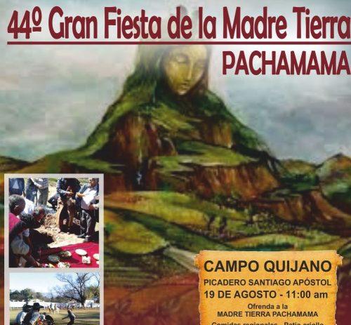 """44º Gran Fiesta de la Madre Tierra """"Pachamama"""" en Campo Quijano"""