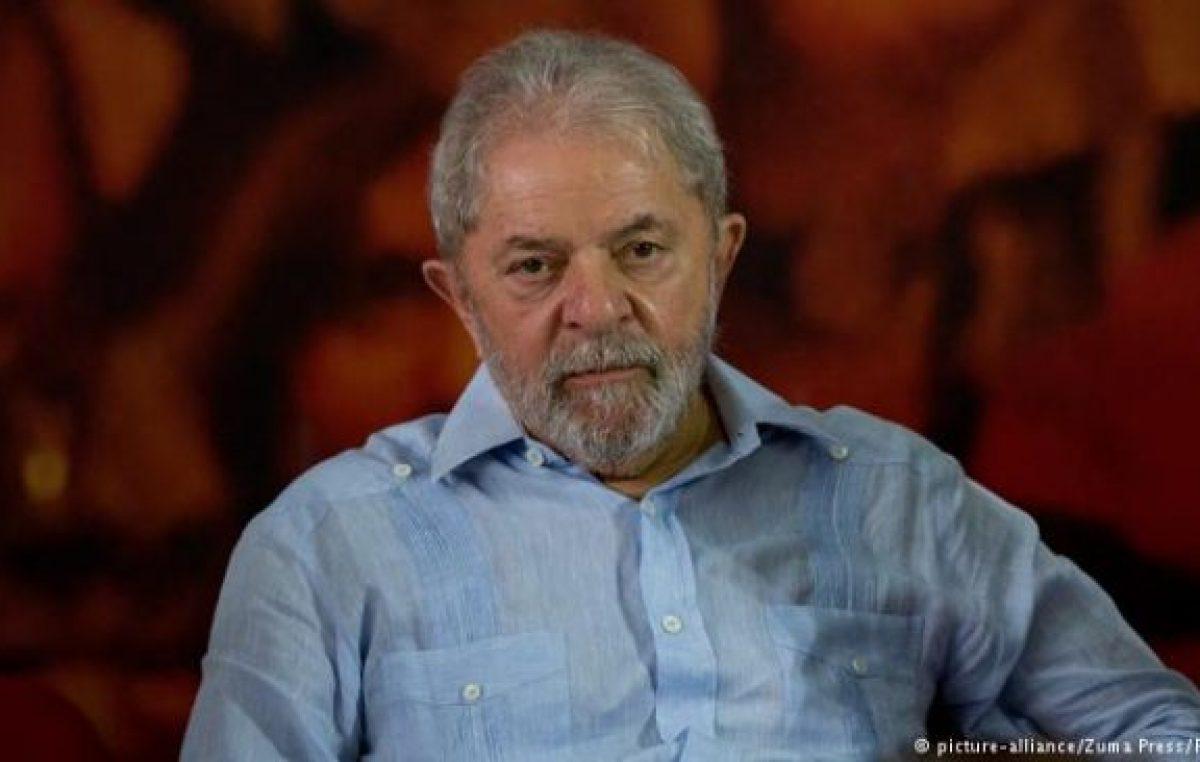 Para Lula la democracia en Brasil está amenazada