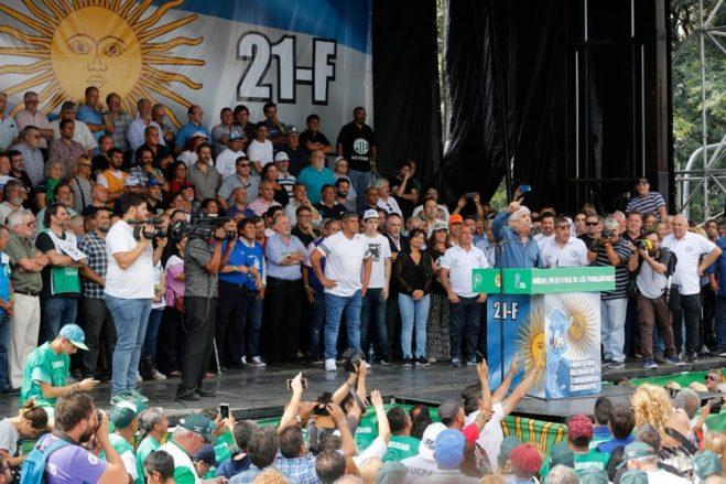 Se viene el primer congreso nacional de las multisectoriales 21 F