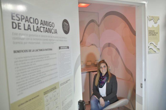 Se inauguró el espacio amigo de la lactancia en el Concejo Municipal rosarino