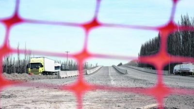 Intendentes de Río Negro suman presión para que Nación saque del freezer a la Ruta 22