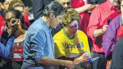 Fernando Haddad es el elegido de Lula