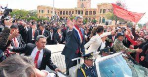Juró Marito y hubo protestas