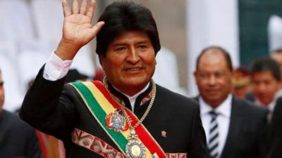 """""""El pueblo pide continuar esta revolución"""", dice Evo Morales"""