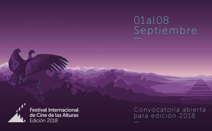 Festival Internacional de Cine de las Alturas, del 1 al 8 de septiembre, Jujuy