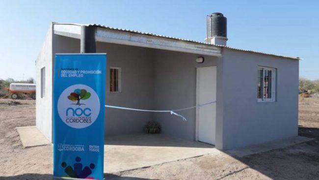 Serrezuela: otras 14 viviendas dignas, en reemplazo de ranchos