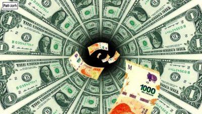 Macri no puede parar al dólar