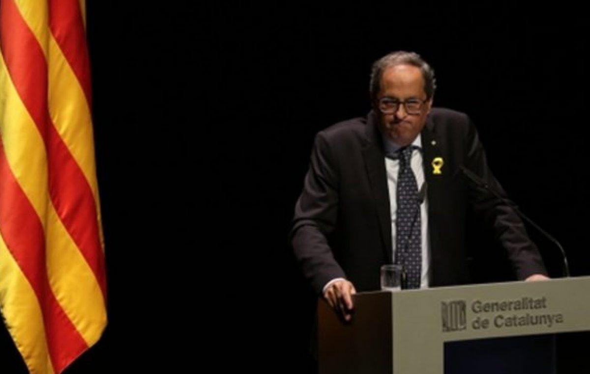 Presidente catalán llama a nuevas movilizaciones en apoyo a la secesión