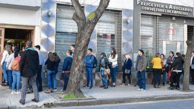 Cerca de 4 mil aspirantes para cubrir 196 puestos en Tribunales de Rosario