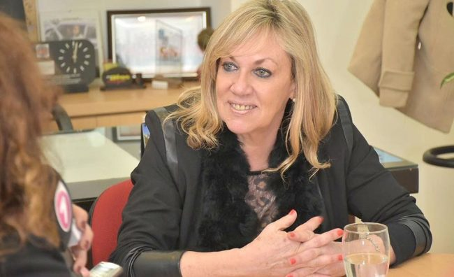 La intendenta de Rawson se suma a la lista de candidatos para gobernar la provincia
